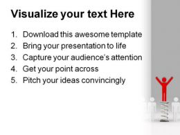 Be Smart And Winner People PowerPoint Background And Template 1210