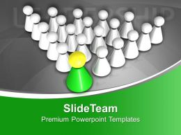 Be The Leader Of Team PowerPoint Templates PPT Themes And Graphics 0513