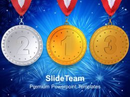 Be The Number One In Race Of Business PowerPoint Templates PPT Themes And Graphics 0713