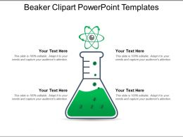 Beaker Clipart PowerPoint Templates