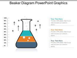 Beaker Diagram Powerpoint Graphics