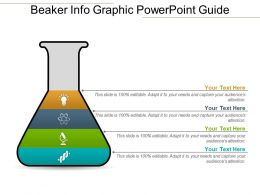 Beaker Info Graphic PowerPoint Guide