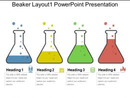 Beaker Layout1 Powerpoint Presentation