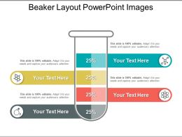 Beaker Layout PowerPoint Images