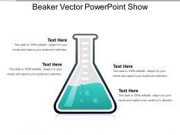 Beaker Vector Powerpoint Show