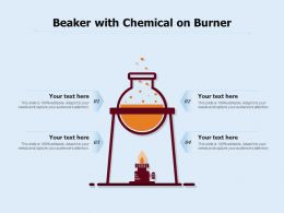 Beaker With Chemical On Burner