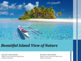 Beautiful Island View Of Nature