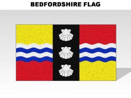Bedfordshire Country Powerpoint Flags
