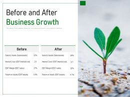 Before And After Business Growth