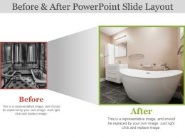 Before And After Powerpoint Slide Layout