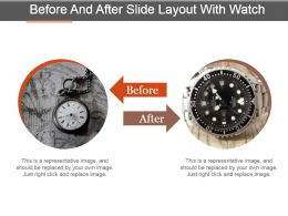 before_and_after_slide_layout_with_watch_powerpoint_templates_Slide01