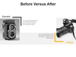 Before Versus After Powerpoints Template