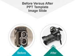 Before Versus After Ppt Template Image Slide