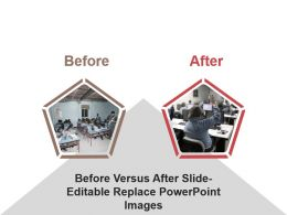 Before Versus After Slide Editable Replace Powerpoint Images