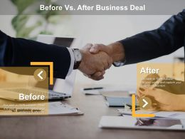 Before Vs After Business Deal