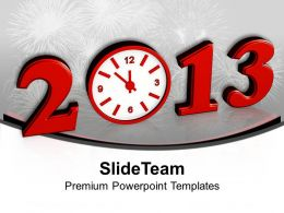 Beginning New Year 2013 Concept PowerPoint Templates PPT Themes And Graphics