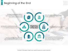 Beginning Of The End Day Ppt Powerpoint Presentation Ideas Layout