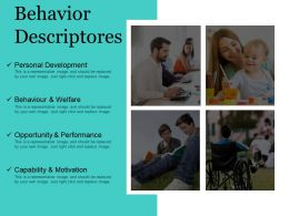Behavior Descriptores Powerpoint Slides
