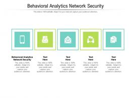 Behavioral Analytics Network Security Ppt Powerpoint Presentation Ideas File Formats Cpb