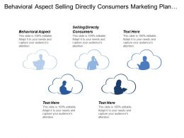 Behavioral Aspect Selling Directly Consumers Marketing Plan Demographic Segmentation