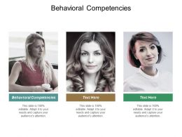 Behavioral Competencies Ppt Powerpoint Presentation Layouts Portrait Cpb