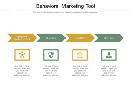 Behavioral Marketing Tool Ppt Powerpoint Presentation Slides Show Cpb