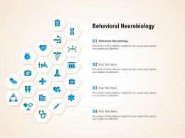 Behavioral Neurobiology Ppt Powerpoint Presentation Professional Slides