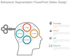 Behavioral Segmentation Powerpoint Slides Design
