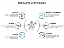 Behavioral Segmentation Ppt Powerpoint Presentation Icon Slide Cpb