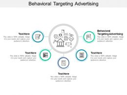 Behavioral Targeting Advertising Ppt Powerpoint Presentation File Background Cpb