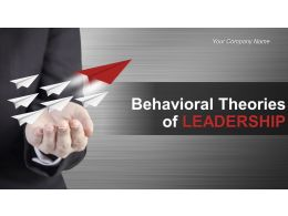 Behavioral Theories Of Leadership Powerpoint Presentation Slides