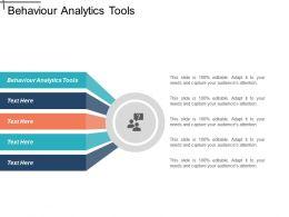 Behaviour Analytics Tools Ppt Powerpoint Presentation File Slides Cpb