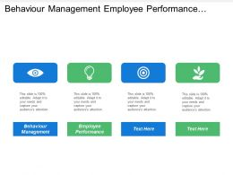 Behaviour Management Employee Performance Leadership Training Development Knowledge Management Cpb