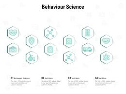 Behaviour Science Ppt Powerpoint Presentation Summary Professional