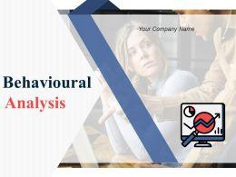 Behavioural Analysis Powerpoint Presentation Slides