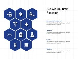 Behavioural Brain Research Ppt Powerpoint Presentation File Sample
