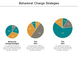 Behavioural Change Strategies Ppt Powerpoint Presentation File Deck Cpb