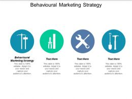 Behavioural Marketing Strategy Ppt Powerpoint Presentation Gallery Smartart Cpb