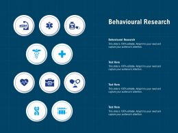 Behavioural Research Ppt Powerpoint Presentation Infographics Microsoft