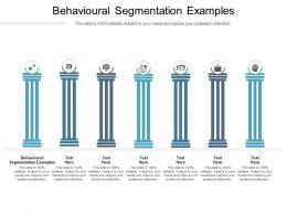 Behavioural Segmentation Examples Ppt Powerpoint Presentation Infographics Show Cpb