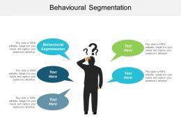 Behavioural Segmentation Ppt Powerpoint Presentation Example File Cpb