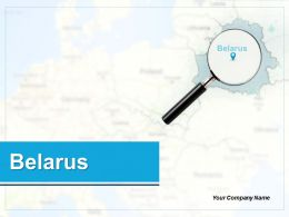 Belarus Ppt Professional Graphics Download Belarus With Pin Points