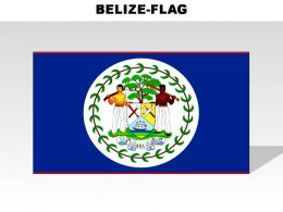 Belize Country Powerpoint Flags
