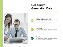 Bell Curve Generator Data Ppt Powerpoint Presentation Model Graphic Images Cpb