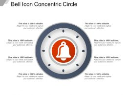 Bell Icon Concentric Circle
