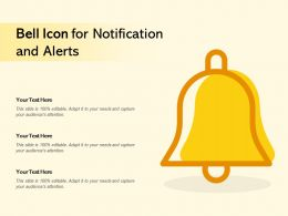 Bell Icon For Notification And Alerts