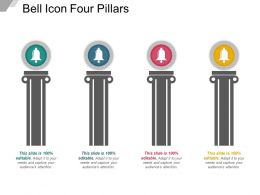 Bell Icon Four Pillars