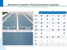 Benchmark Competition Showing Companies Comparison