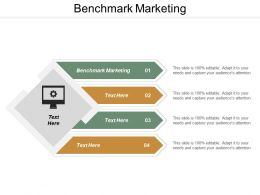 Benchmark Marketing Ppt Powerpoint Presentation File Graphics Cpb