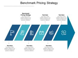 Benchmark Pricing Strategy Ppt Powerpoint Presentation Styles Introduction Cpb